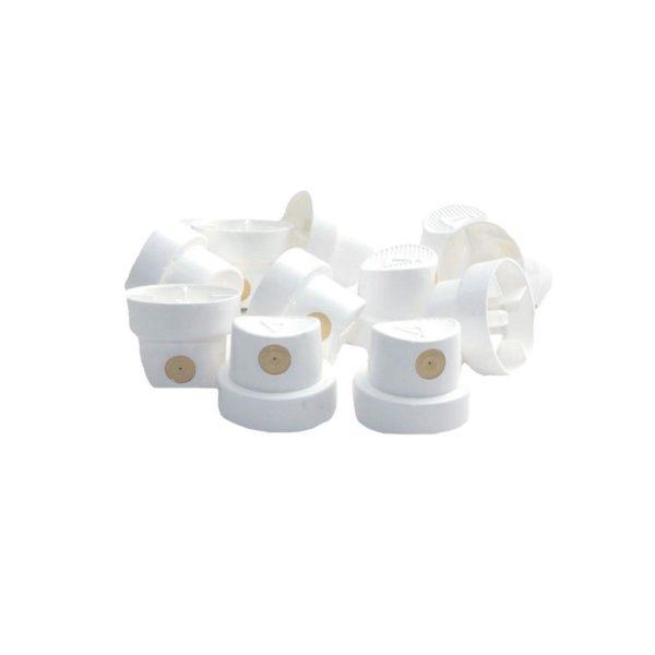 Pack of 10 0.8 Thin Caps