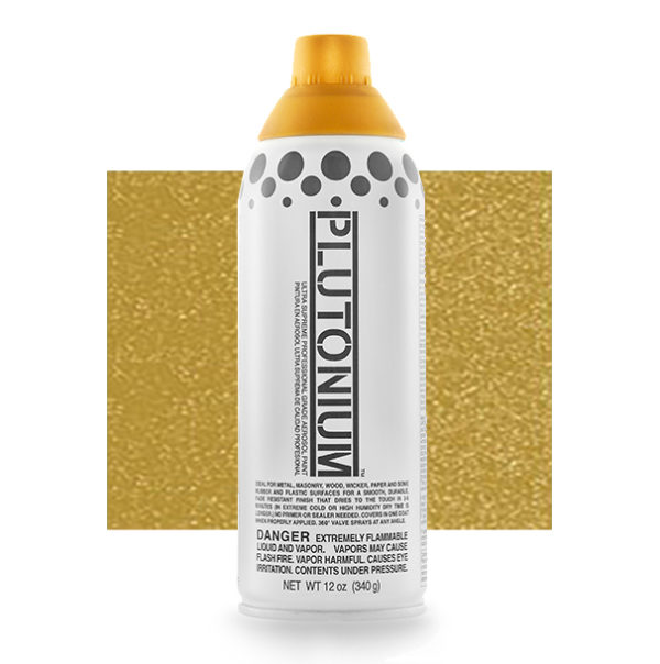 First Place Metallic Color Swatch - Plutonium Spray Paint