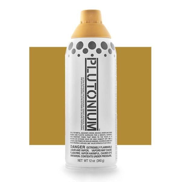 Cardboard Color Swatch - Plutonium Spray Paint