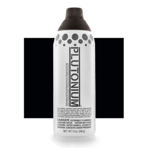 Deep Space Color Swatch - Plutonium Spray Paint