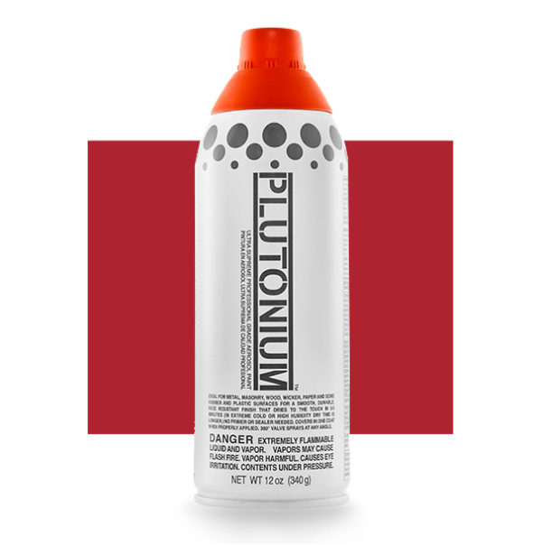 Hot Sauce Color Swatch - Plutonium Spray Paint