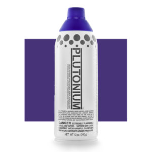 Purple Haze Color Swatch - Plutonium Spray Paint