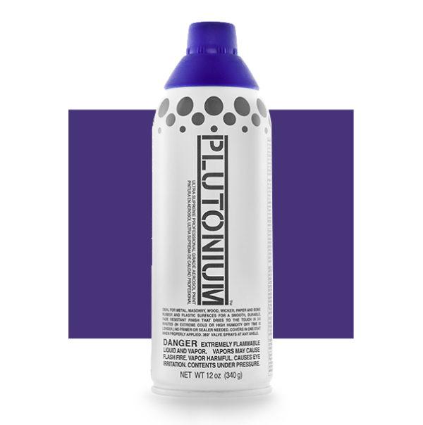 Purple Haze Color Swatch - Plutonium Spray Paint