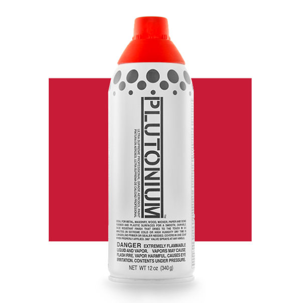 Red Alert Color Swatch - Plutonium Spray Paint