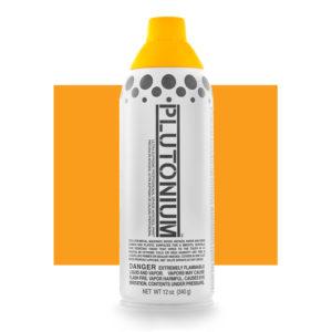Sunny D Color Swatch - Plutonium Spray Paint