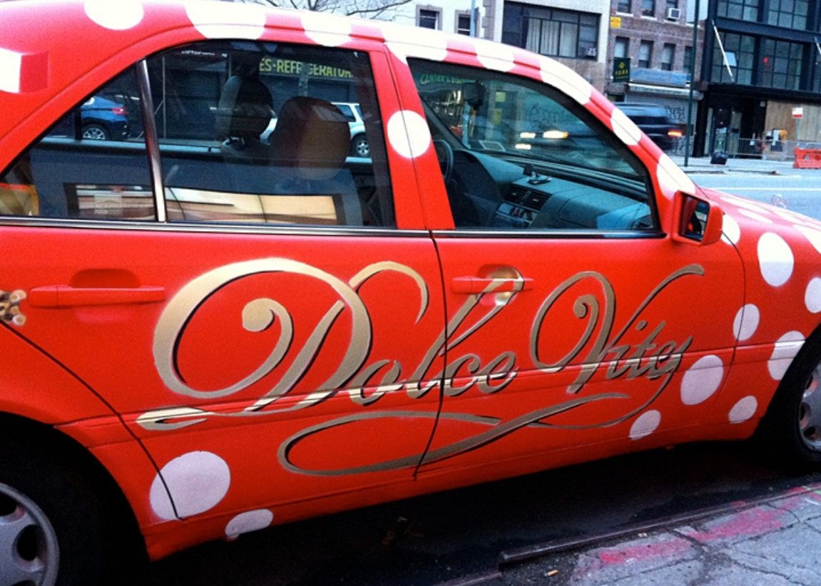 Spray Paint Cars? Yes! Take a look at the Chocolatto Mobile
