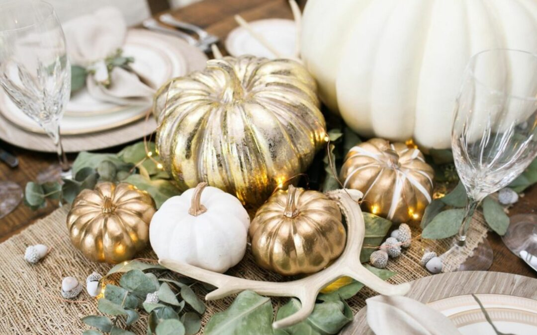 5 Spray Paint Thanksgiving Centerpiece Ideas to Impress Your Guests