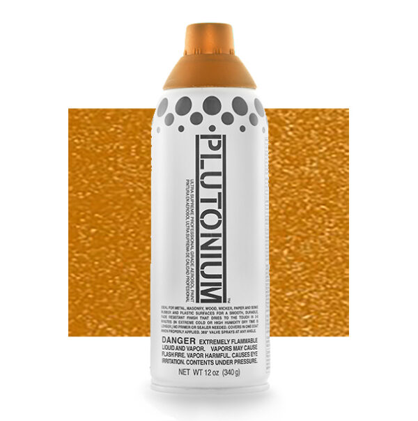 Product Image for Plutonium Paint 3rd Place Bronze Metallic Spray Paint