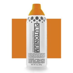 Product Image for Plutonium Paint Basketball Orange Spray Paint