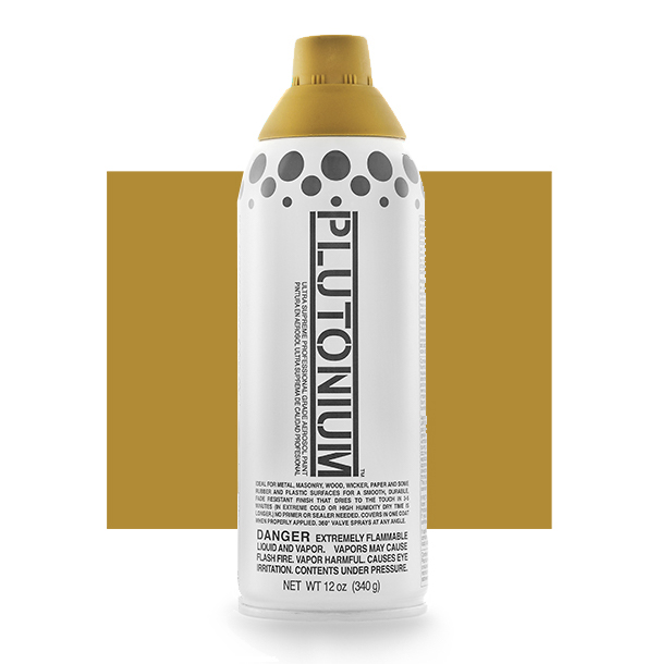 Product Image for Plutonium Paint Cardboard Brown Spray Paint