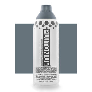 Product Image for Plutonium Paint Cleveland Gray Spray Paint
