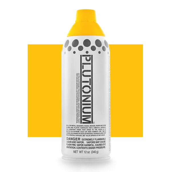 Product Image for Plutonium Paint Dayz Yellow Spray Paint