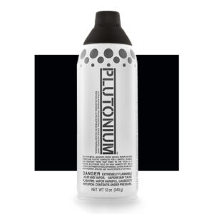 Product Image for Plutonium Paint Deep Space Black Spray Paint
