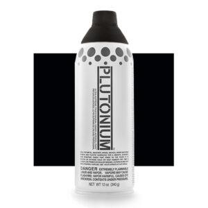 Product Image for Plutonium Paint Deep Space Black Spray Paint