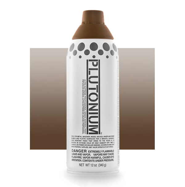 Product Image for Plutonium Paint Earth Translucent Brown Spray Paint