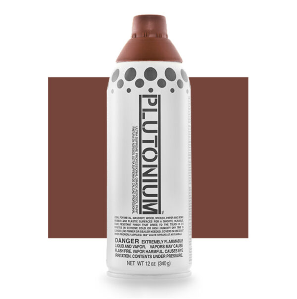 Product Image for Plutonium Paint Georgia Clay Brown Spray Paint