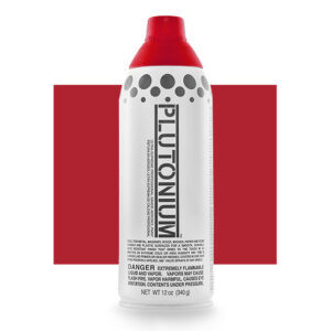 Product Image for Plutonium Paint Hot Sauce Red Spray Paint
