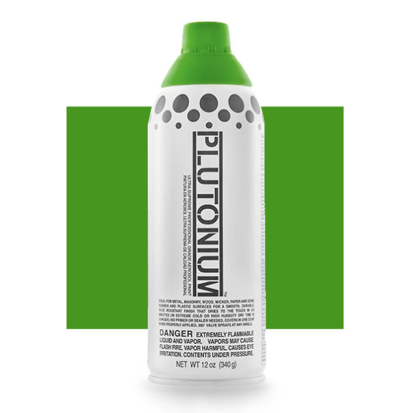 Product Image for Plutonium Paint Hydro Green Spray Paint