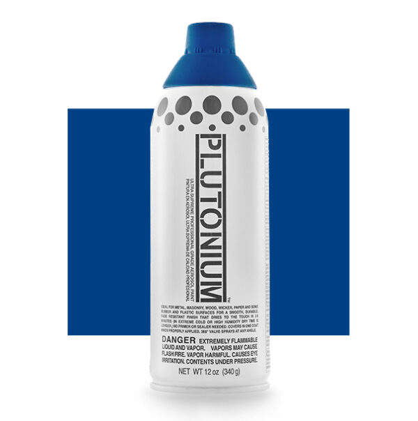 Product Image for Plutonium Paint Motown Blue Spray Paint