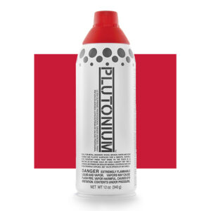 Product Image for Plutonium Paint Red Alert Spray Paint