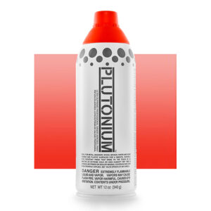 Product Image for Plutonium Paint Stop Light Red Transluscent Spray Paint