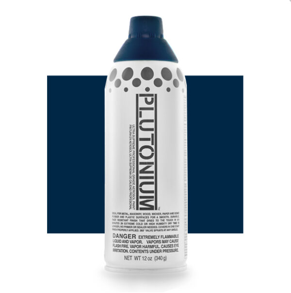 Product Image for Plutonium Paint Submarine Navy Blue Spray Paint