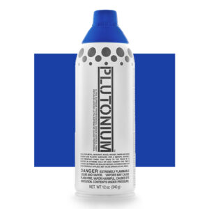 Product Image for Plutonium Paint Truer Blue Spray Paint