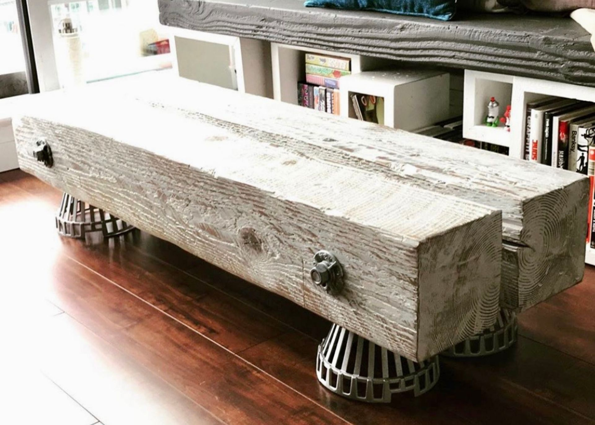 Upcycled Hastings Table using 2nd Place Finish
