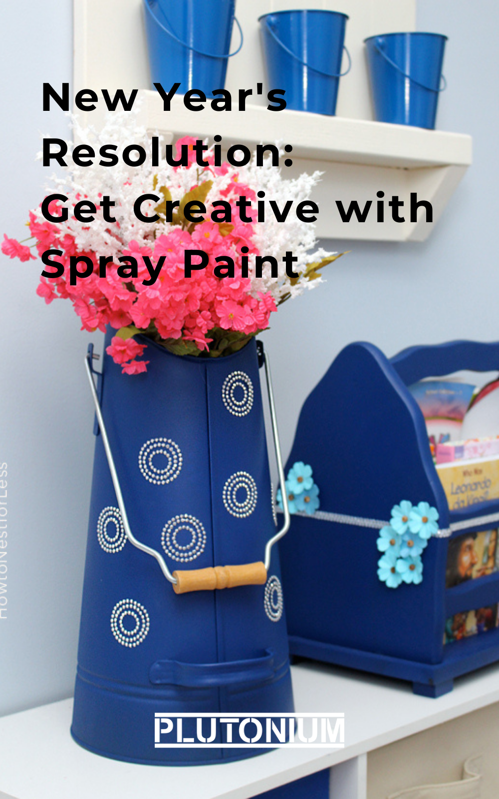 Is Get Creative one of your New Year's Resolutions? We have some inspiration for you. Grab a thrift store find and a bottle of spray paint and try one of these spray paint projects